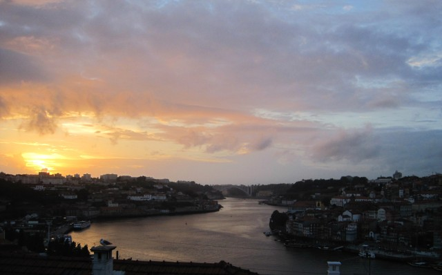 Sunset over the Douro